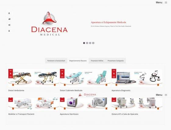 Landing Site Diacena Medical
